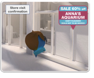 Mobile Advertising, Positioning Aquarium